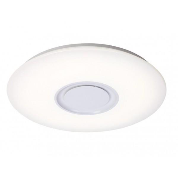 PLAFON MYKONOS 24W LED RGB+ALTAVOZ 40cm