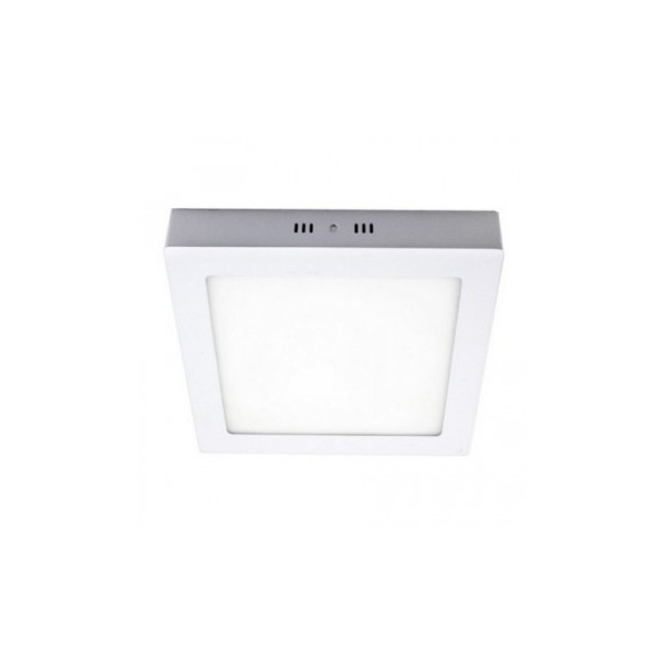 DOWNLIGHT DE SUPERFICIE CUADRADO BLANCO 18W