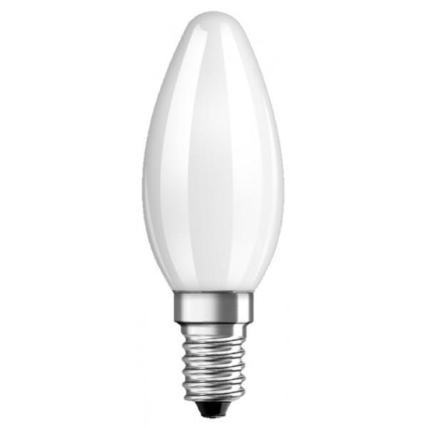 BOMBILLA VELA LED  MATE 4W- 2700K -E14