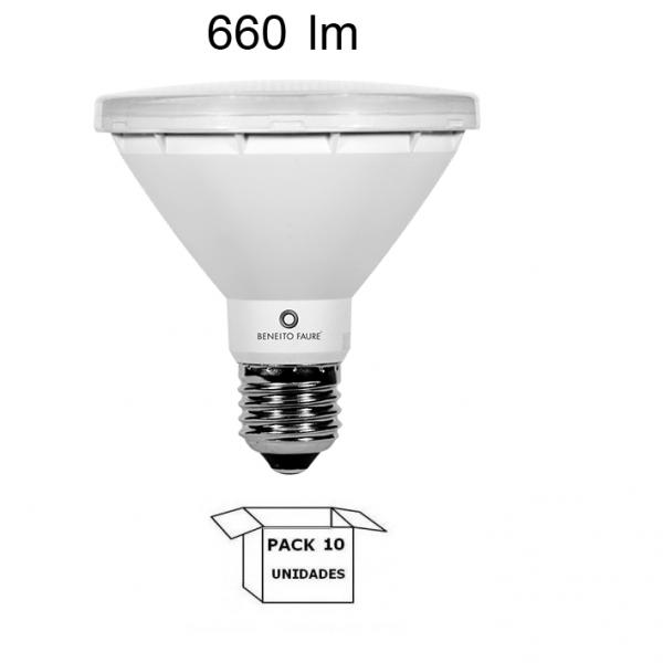 PAR 30 LED 10W 3000K 660LM