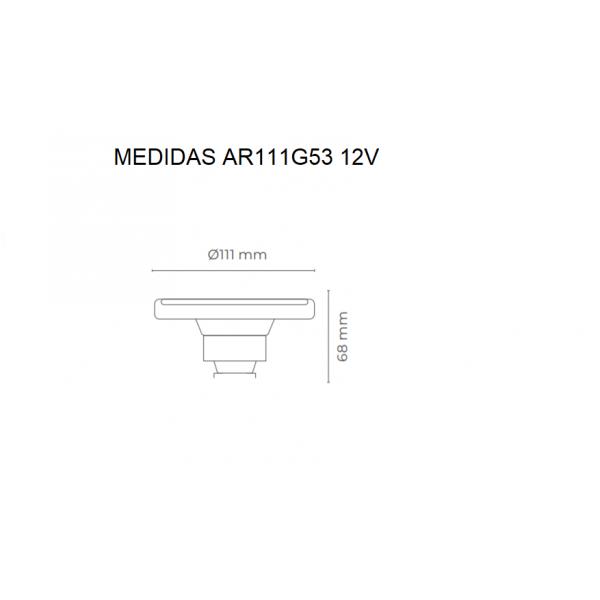 BOMBILLA LED  AR111 14W 12V...