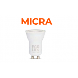 BOMBILLA LED MICRA 4W GU10...