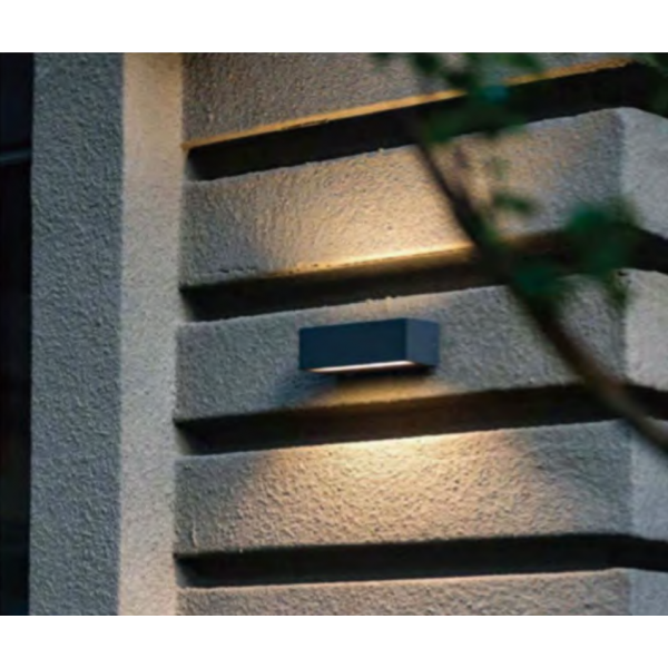 APLIQUE LED  EXTERIOR SUET...