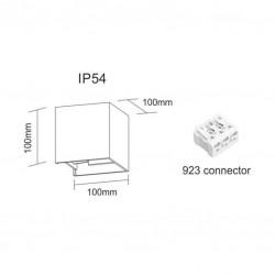APLIQUE LED LEK 6.8W IP54...